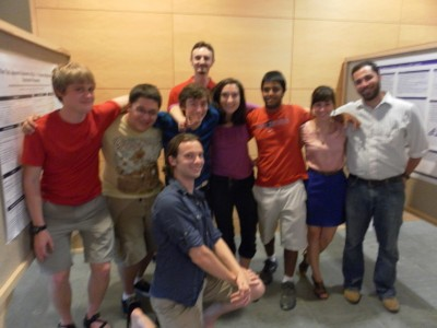 2012 Math REU Group Photo
