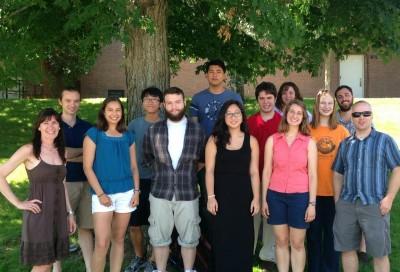 2013 Math REU Group Photo