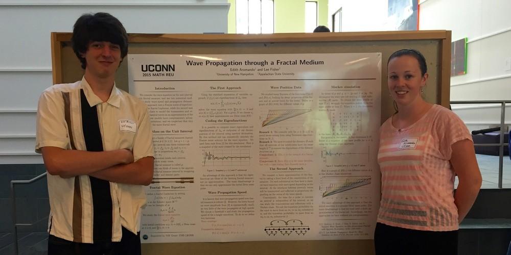 Poster - Wave Propagation through a Fractal Medium